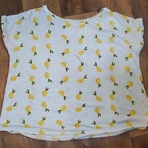22/24W Cato Lemon Tshirt